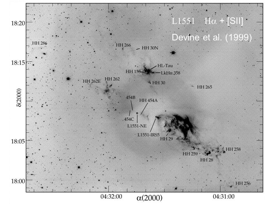L1551 Ha + [SII] Devine et al. (1999)